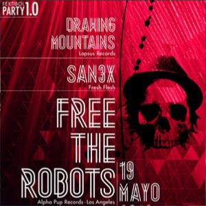 Free The Robots en Fextibol Party (Murcia)