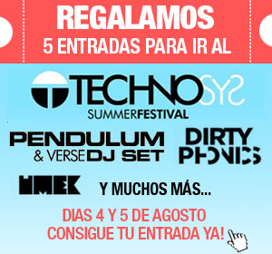 beatMash REGALA 5 ENTRADAS para el Technosys