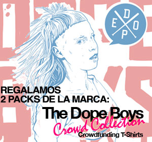 beatMash & The Dope Boys regalan 2 packs de ropa
