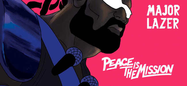 "5 temas nuevos de Major Lazer en el Extended de ""Peace Is The Mission"""