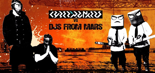 Cyberpunkers Vs Djs From Mars – Apocalypse Now