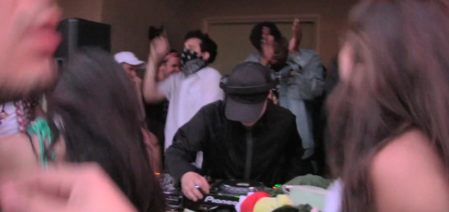 Skrillex comparte el vídeo de la Coachella House Party 2016