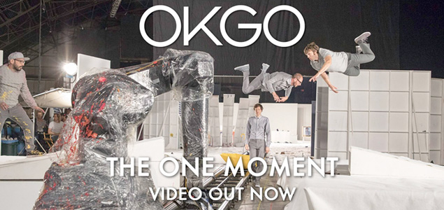 "OK Go estrena su nueva delicia visual ""The One Moment"""