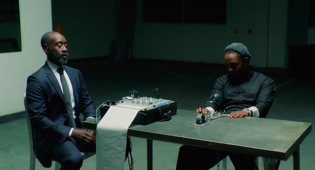 "Kendrick Lamar estrena vídeo de ""DNA"" con Don Cheadle"
